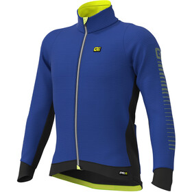 Alé Cycling Graphics PRR Thermo Road DWR Jack Heren, blue light/fluo yellow